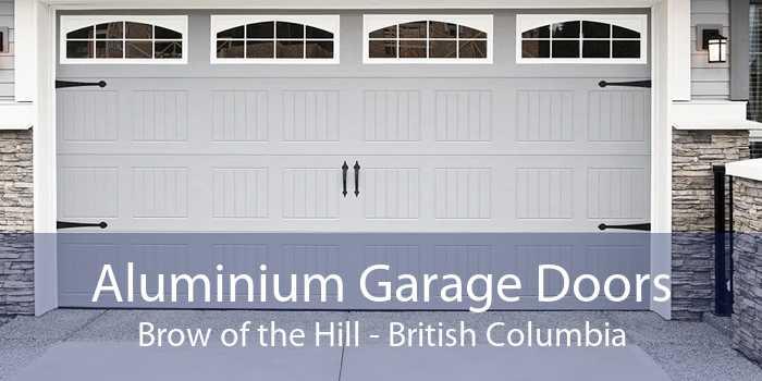 Aluminium Garage Doors Brow of the Hill - British Columbia
