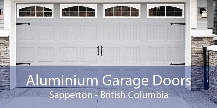 Aluminium Garage Doors Sapperton - British Columbia