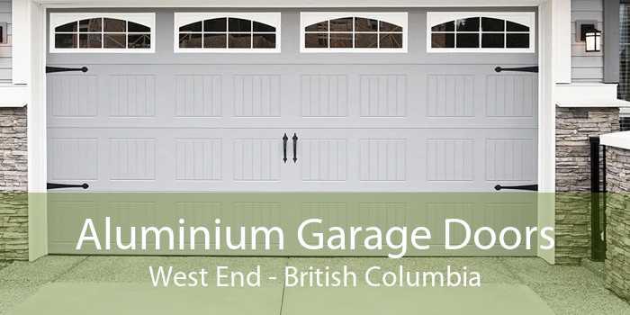 Aluminium Garage Doors West End - British Columbia