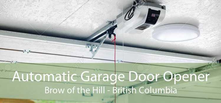 Automatic Garage Door Opener Brow of the Hill - British Columbia