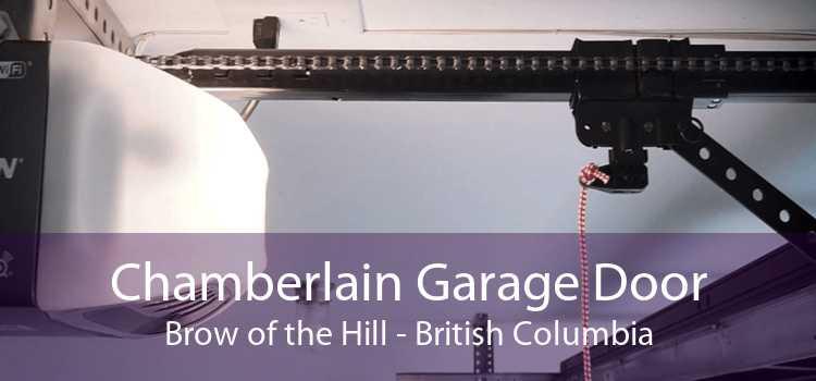 Chamberlain Garage Door Brow of the Hill - British Columbia