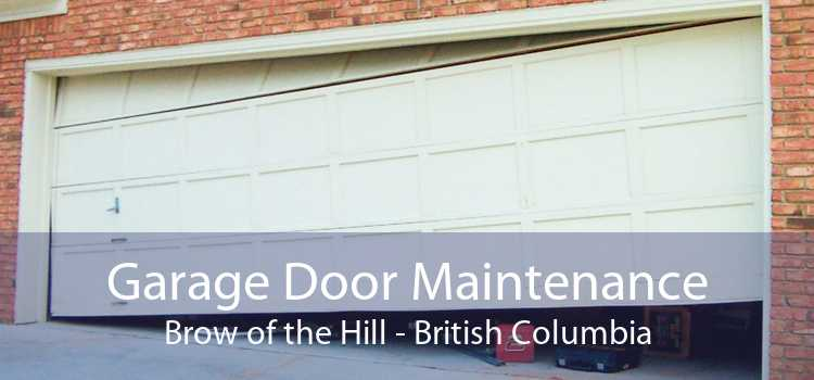 Garage Door Maintenance Brow of the Hill - British Columbia
