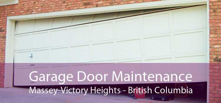Garage Door Maintenance Massey-Victory Heights - British Columbia
