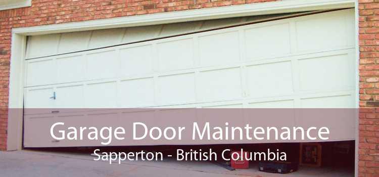 Garage Door Maintenance Sapperton - British Columbia