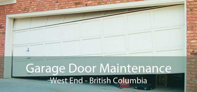 Garage Door Maintenance West End - British Columbia