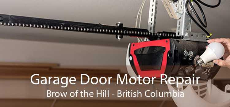 Garage Door Motor Repair Brow of the Hill - British Columbia