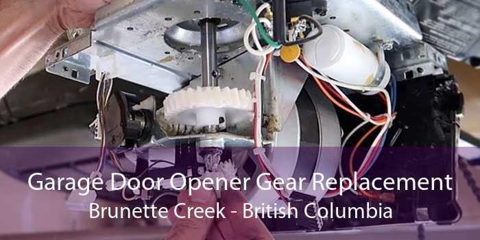 Garage Door Opener Gear Replacement Brunette Creek - British Columbia