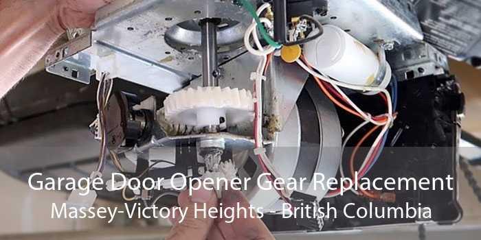 Garage Door Opener Gear Replacement Massey-Victory Heights - British Columbia