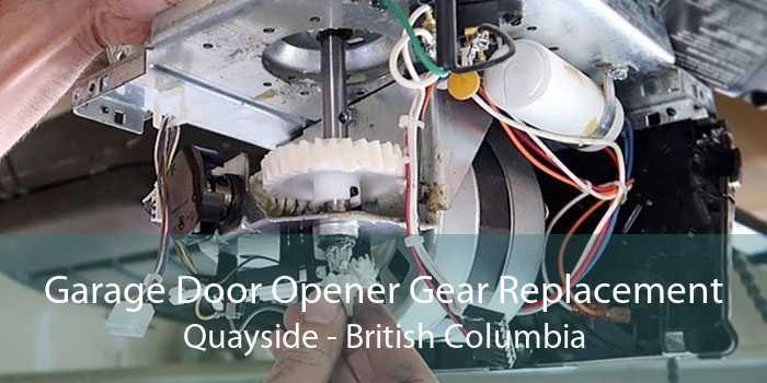 Garage Door Opener Gear Replacement Quayside - British Columbia