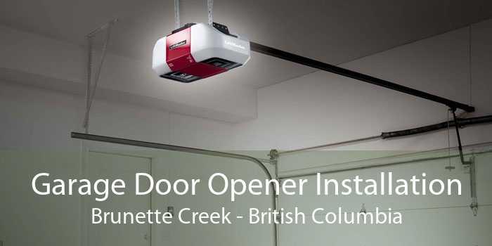 Garage Door Opener Installation Brunette Creek - British Columbia