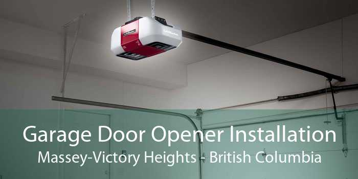 Garage Door Opener Installation Massey-Victory Heights - British Columbia