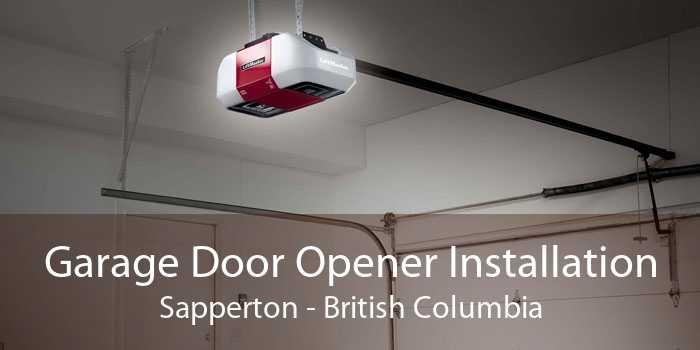 Garage Door Opener Installation Sapperton - British Columbia
