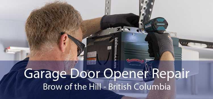 Garage Door Opener Repair Brow of the Hill - British Columbia