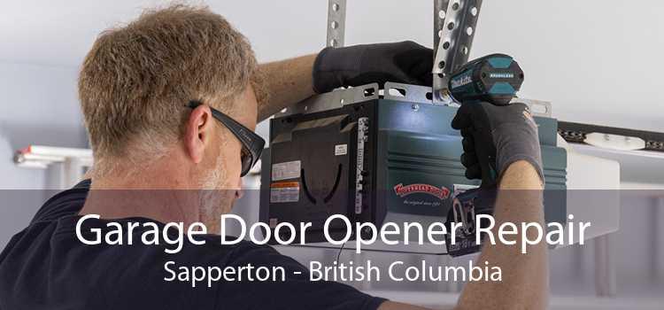 Garage Door Opener Repair Sapperton - British Columbia