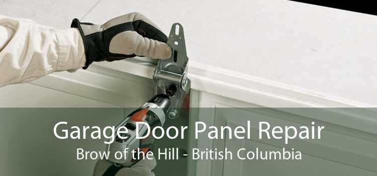 Garage Door Panel Repair Brow of the Hill - British Columbia