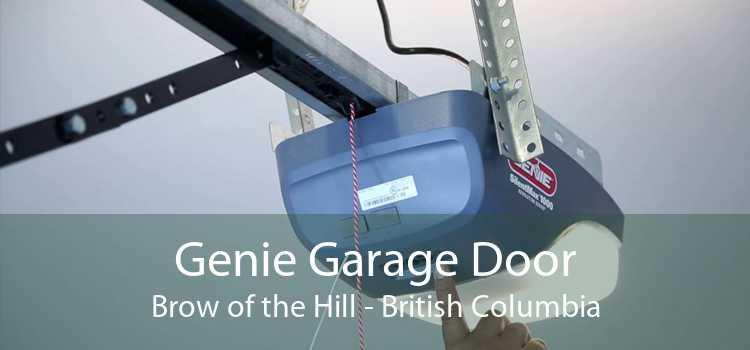 Genie Garage Door Brow of the Hill - British Columbia