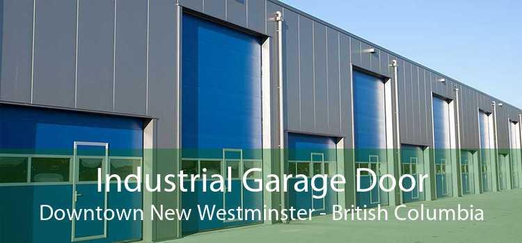 Industrial Garage Door Downtown New Westminster - British Columbia