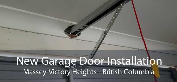New Garage Door Installation Massey-Victory Heights - British Columbia