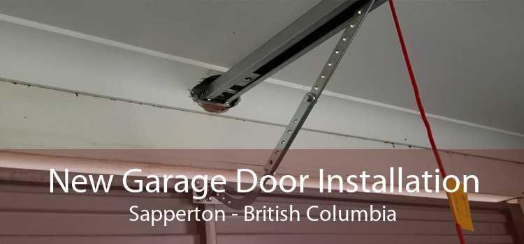 New Garage Door Installation Sapperton - British Columbia