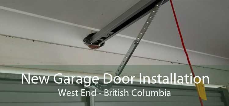 New Garage Door Installation West End - British Columbia
