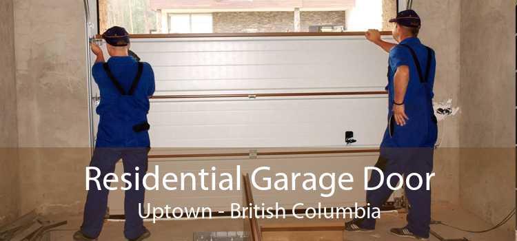 Residential Garage Door Uptown - British Columbia
