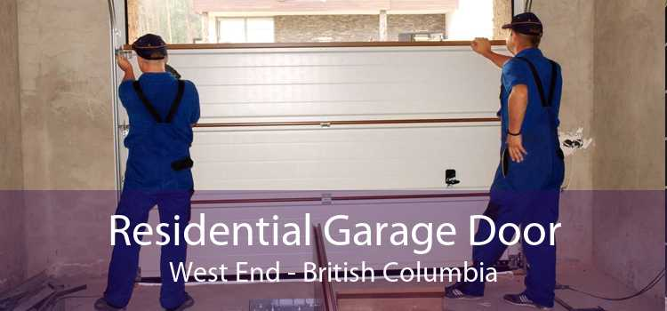 Residential Garage Door West End - British Columbia