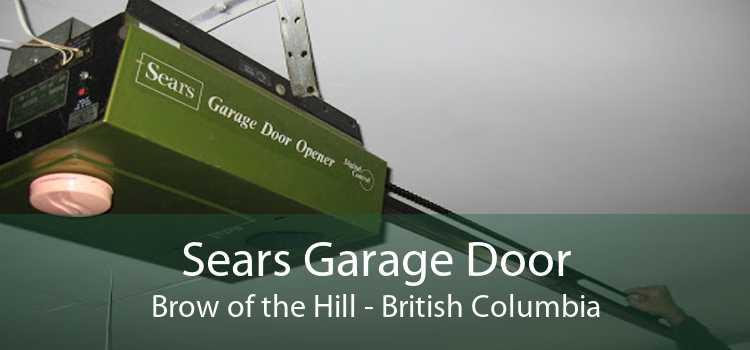 Sears Garage Door Brow of the Hill - British Columbia