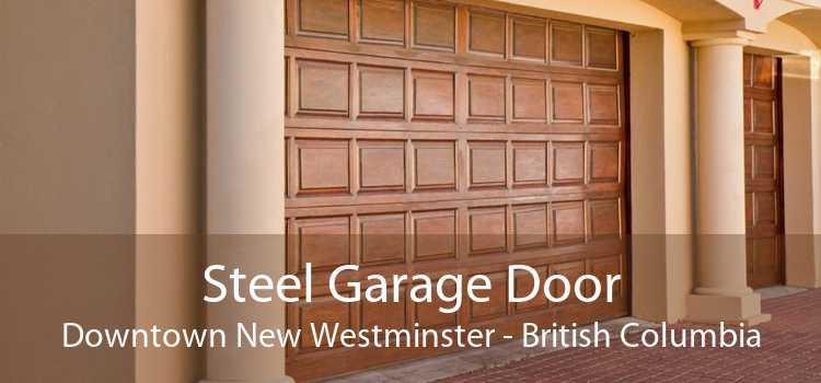 Steel Garage Door Downtown New Westminster - British Columbia