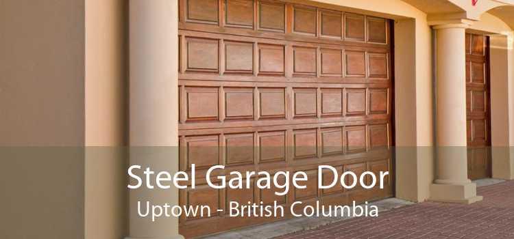 Steel Garage Door Uptown - British Columbia