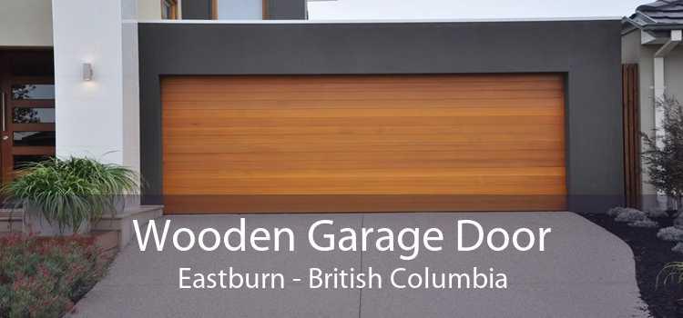 Wooden Garage Door Eastburn - British Columbia