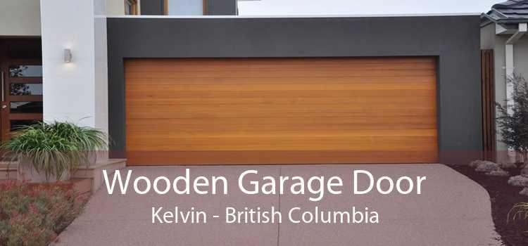 Wooden Garage Door Kelvin - British Columbia
