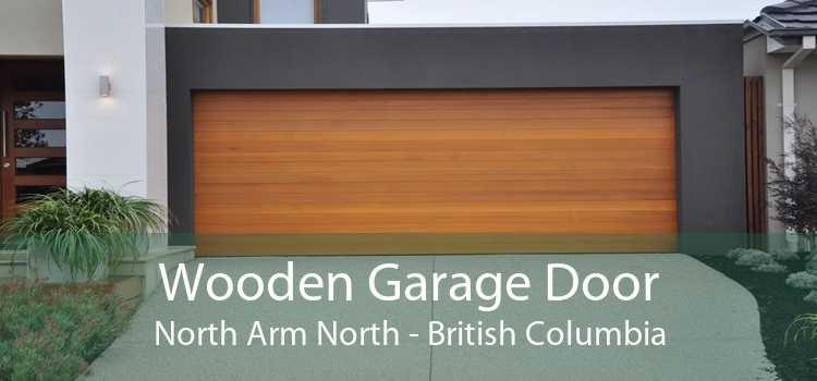 Wooden Garage Door North Arm North - British Columbia