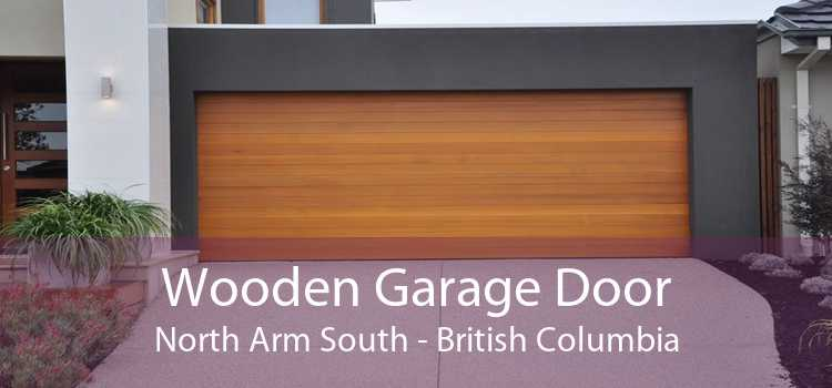 Wooden Garage Door North Arm South - British Columbia