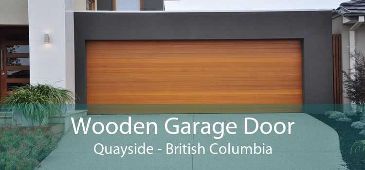 Wooden Garage Door Quayside - British Columbia
