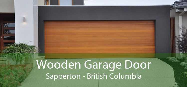 Wooden Garage Door Sapperton - British Columbia