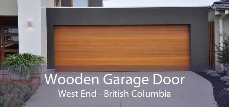 Wooden Garage Door West End - British Columbia
